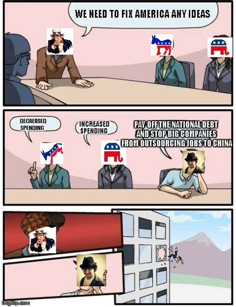 Meeting Room Meme - boardroom meeting suggestion political news channel com