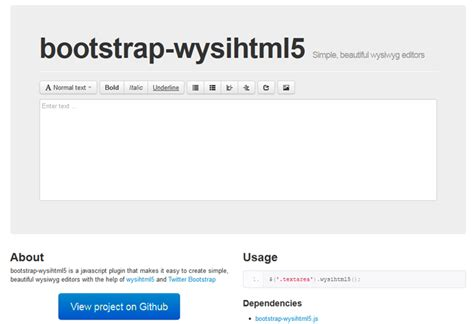 bootstrap editor tutorial awesome resources for twitter bootstrap goodies