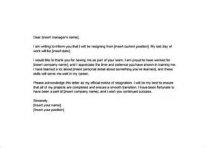 Exle Professional Resignation Letter by Resignation Letter Templates 32 Free Word Excel Pdf Documents Free Premium