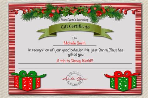 santa claus certificate template santa certificate template invitation template