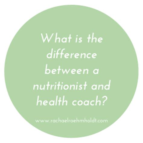 Become A Health Coach Holistic Mba by What Is The Difference Between A Nutritionist And Health