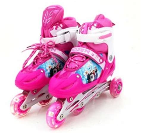 Sepatu Roda Anak Perempuan Frozen sepatu roda anak karakter toko bunda