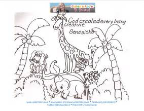 creation coloring pages day of creation coloring pages