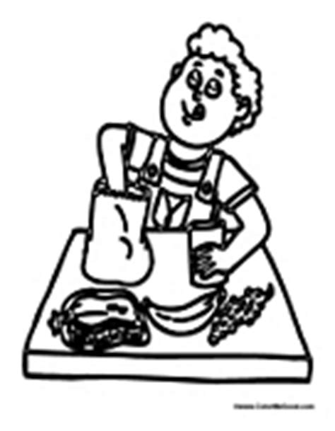 school lunch coloring page school lunch and cafeteria coloring pages