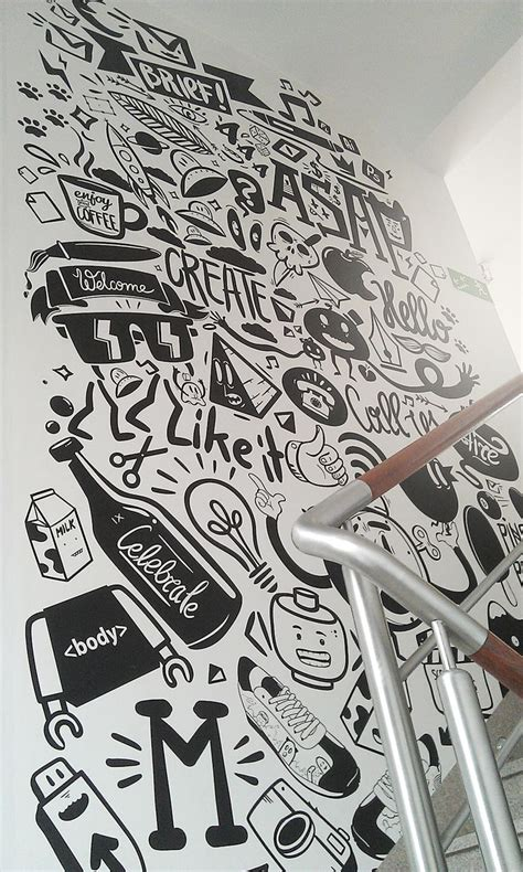 Restaurant Wall Murals the 25 best office wall graphics ideas on pinterest
