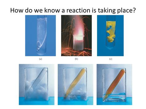 A Place Reaction Chapter 8 Chemical Reactions Chapter 9 Chemical Change Ppt