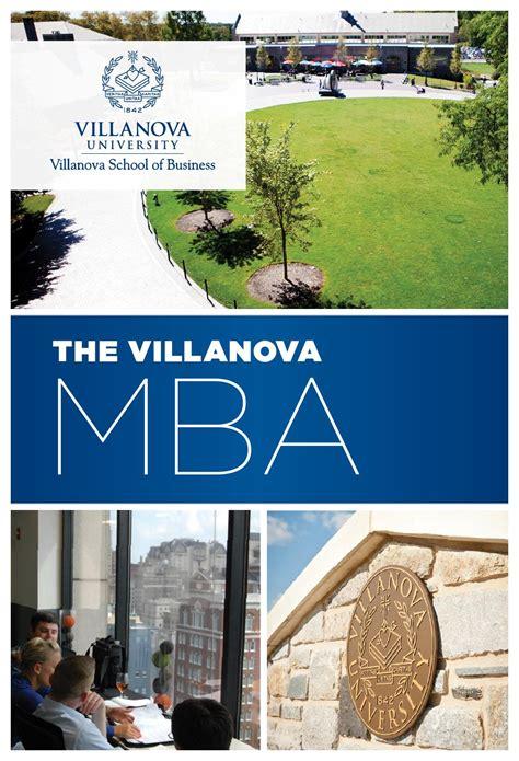 Villanova Mba vsb mba brochure by villanova school of business issuu
