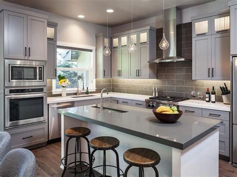 gorgeous gray kitchen 2014 hgtv