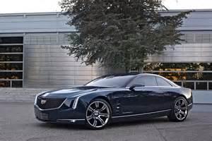Cadillac Turbo V8 Cadillac Elmiraj Concept Debuts With 500 Horsepower