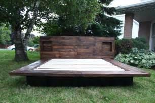 Platform Beds Made Out Of Pallets Bedroom Interesting Japanese Style Bed Frame On