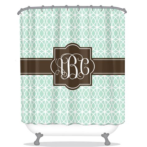 monogram curtains monogram shower curtain monogrammed shower curtains