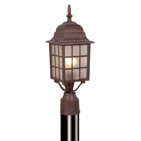 Patio Pole Lights Mission View Outdoor Pole Light Royal Bronze