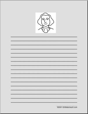 george washington writing paper presidents day printable worksheets page 2 abcteach