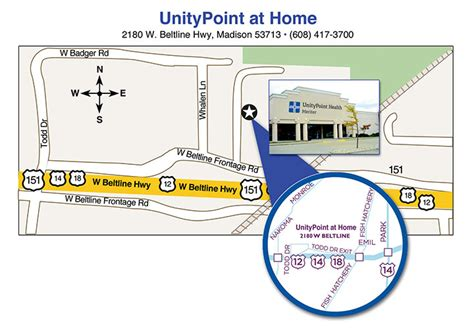 locations for unitypoint health meriter home health services