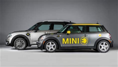 Mini Elektroauto 2019 by Mini Gibt Elektroauto Ausblick Ecomento De