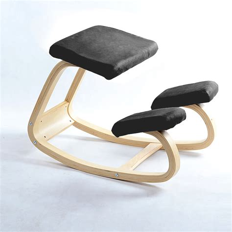 Computer Stool Chair Design Ideas Original Ergonomic Kneeling Chair Stool Home Office Furniture Ergonomic Rocking Wooden Kneeling