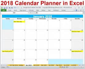 Chile Calendrier 2018 2018 Calendar Year Printable Excel Template 2018 Monthly