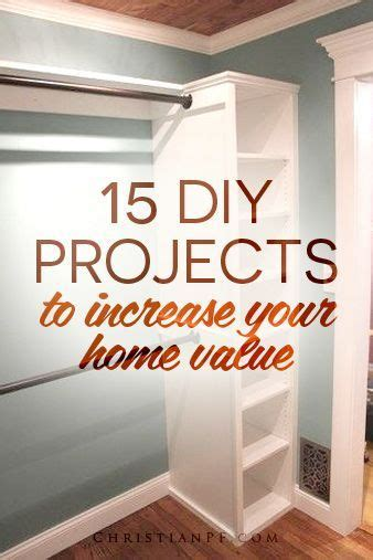 15 diy projects to increase your home value closet paint