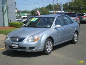 Kia Sedan 2007 2007 Blue Kia Spectra Ex Sedan 3405643 Gtcarlot