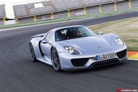 silver porsche spyder road test 2014 porsche 918 spyder review