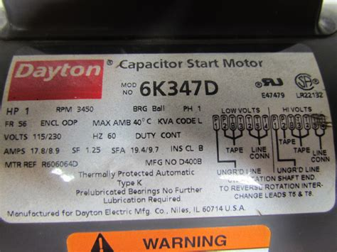 what is the purpose of a capacitor in a dc circuit dayton 6k347d general purpose electric motor capacitor start 1hp 3450rpm 115 230 ebay