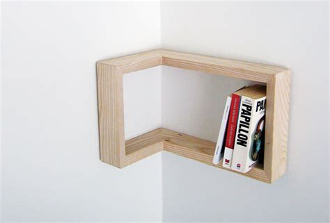 Corner Book Shelving Display Shelves For Showing Diy Craft Projects How