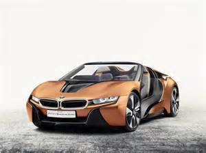 Bmw I8 Concept Bmw I8 Spyder Concept In Pictures Evo