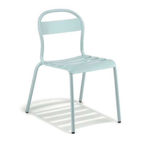 pantone sedie stecca chair aluminum structure by colos