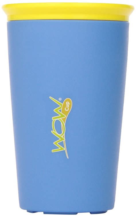 Wow Spill Free 360 Cup Yellow wow cup for new innovative 360 spill