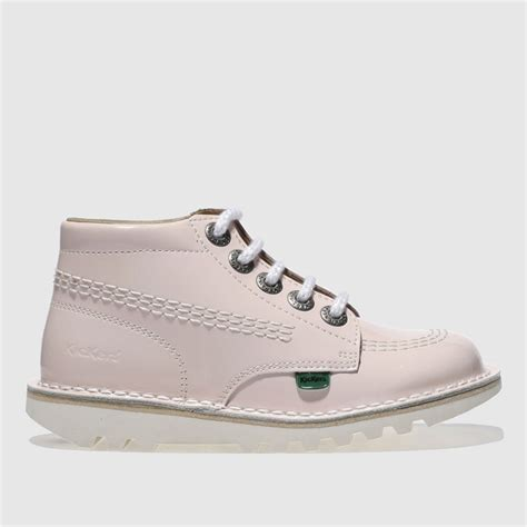 Kickers Safety Boots Adventure Black Leather kickers pale pink kick hi toddler boots bluewater 163 34 99