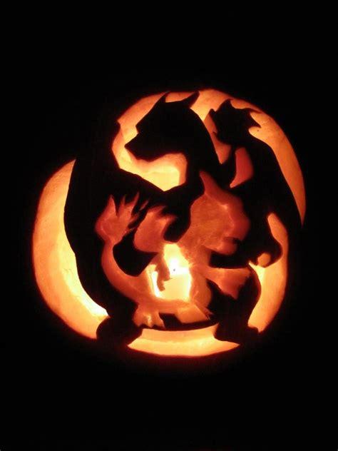 charmander s evolution pumpkin carving pic global geek