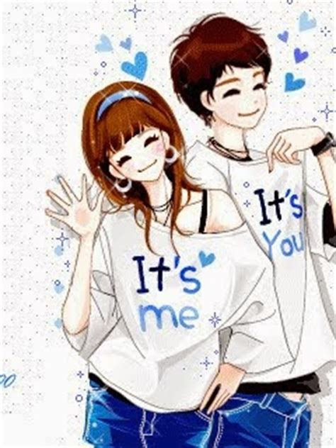 wallpaper kartun korea romantis kumpulan gambar animasi kartun korea romantis