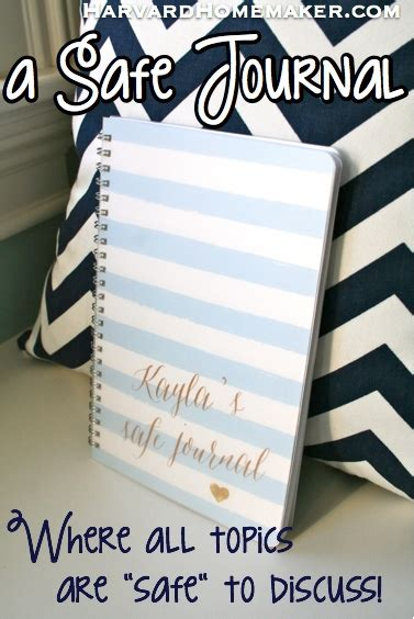 journal design safety give your child a safe journal a safe place to ask you