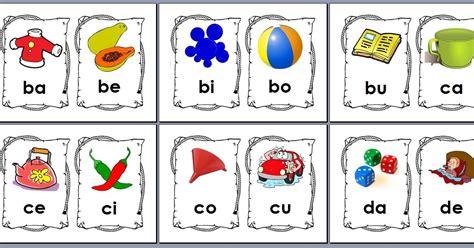 belajar membaca abc 1 bermulanya di prasekolah ini kad sukukata kv