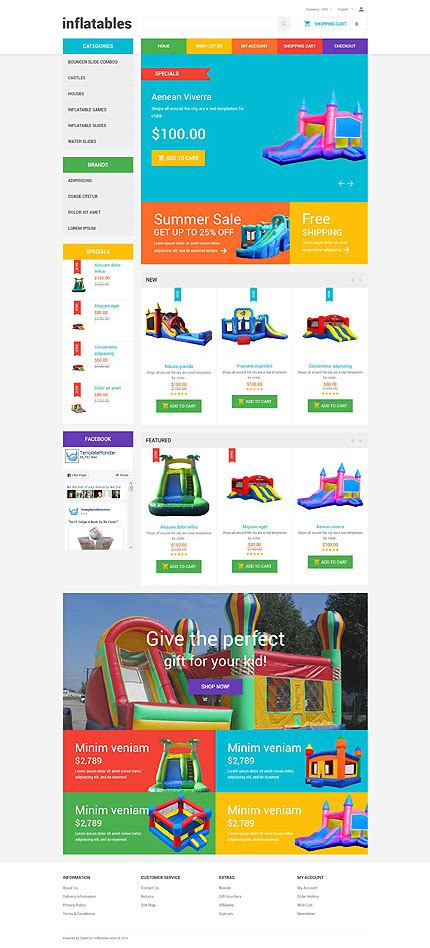 best opencart templates family opencart template 55013 templates