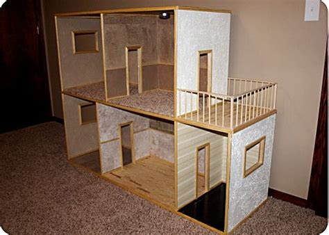 how to make doll house how to make a doll house little fleming pinterest barbie house the shape and