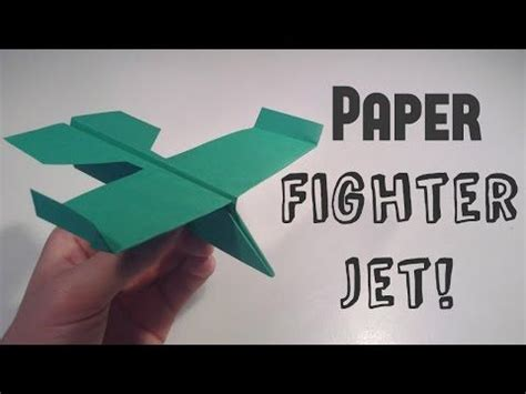 How To Make A Paper Fighter Jet - how to make a paper airplane best paper planes in the