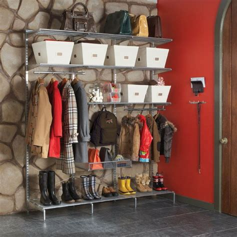 Elfa Freestanding Closet by White Elfa Freestanding Out Of Season Closet For The