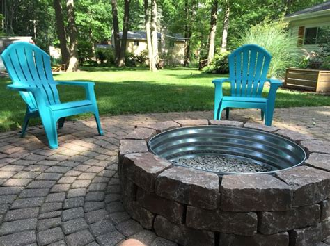 how to build a firepit with pavers the 25 best ideas about backyard pits on