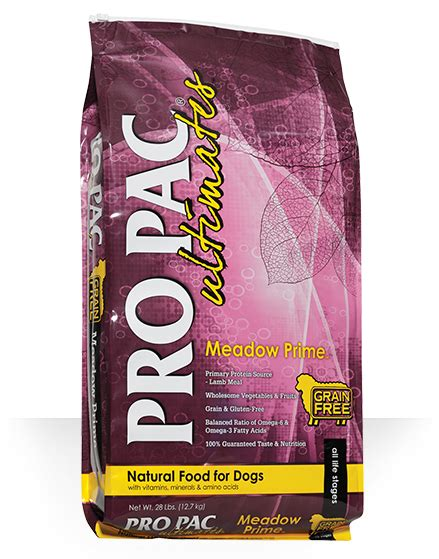 propac puppy food food pro pac ultimates