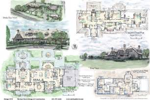 House Plans For Mansions Mansion Floor Plans