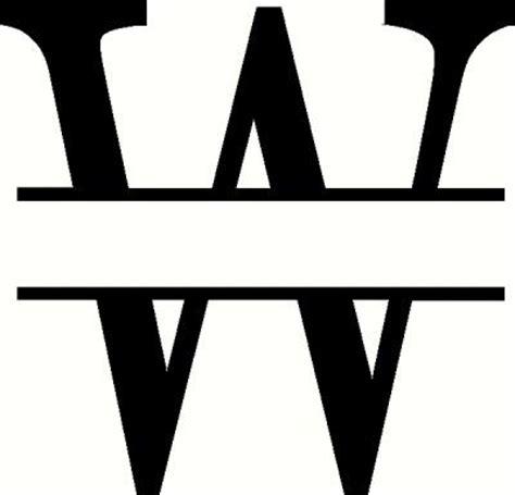 Service Letter B W Monogram Letter Clipart Clipart Suggest