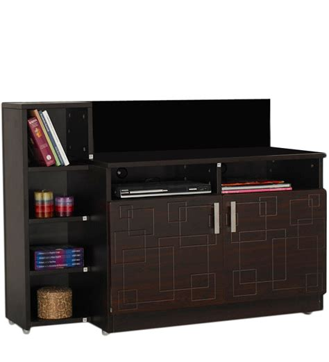squadro tv unit in cinnamon colour by godrej interio by