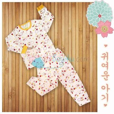 Stelan Panjang Velvet Setelan Velvet Junior Baju Tidur Anak qoo10 harga miring vlt0210a sleepwear baju tidur bayi velvet junior ladd maternity bayi