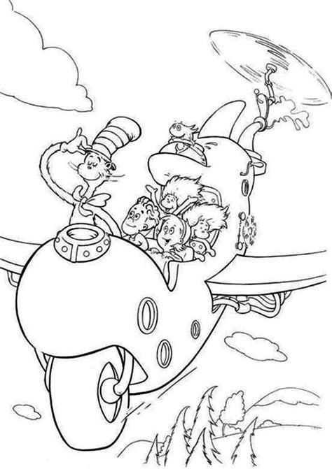 flying cats coloring pages 87 cat in the hat coloring pages cat in the hat