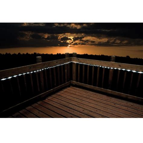 white led solar rope lights flipo group sol 50led t w