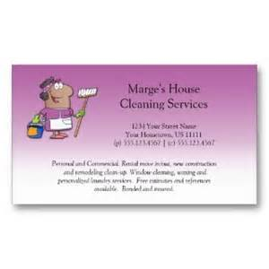 house cleaning business card exles cleaning services business card