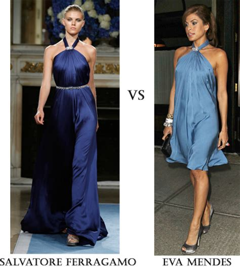 Catwalk To Carpet Mendes by Runway Vs Real Way Salvatore Ferragamo Resort Dress Fashion