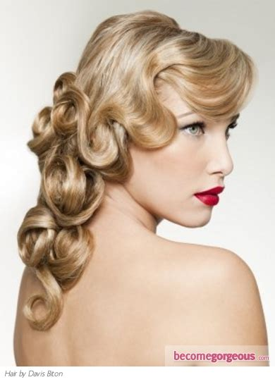 how to get old fashioned curls for hair for blavk tie event maddyson roam fashionista s delight old hollywood curly