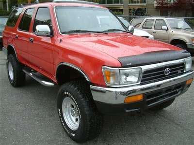 Toyota 4runner 1990 1991 1992 1993 1994 1995 Factory